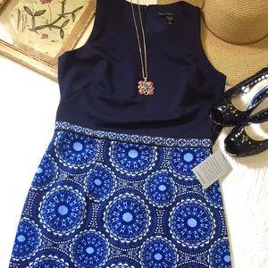 NWT Maggy London Scuba Midi Dress